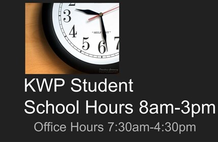 Student and Office Hours